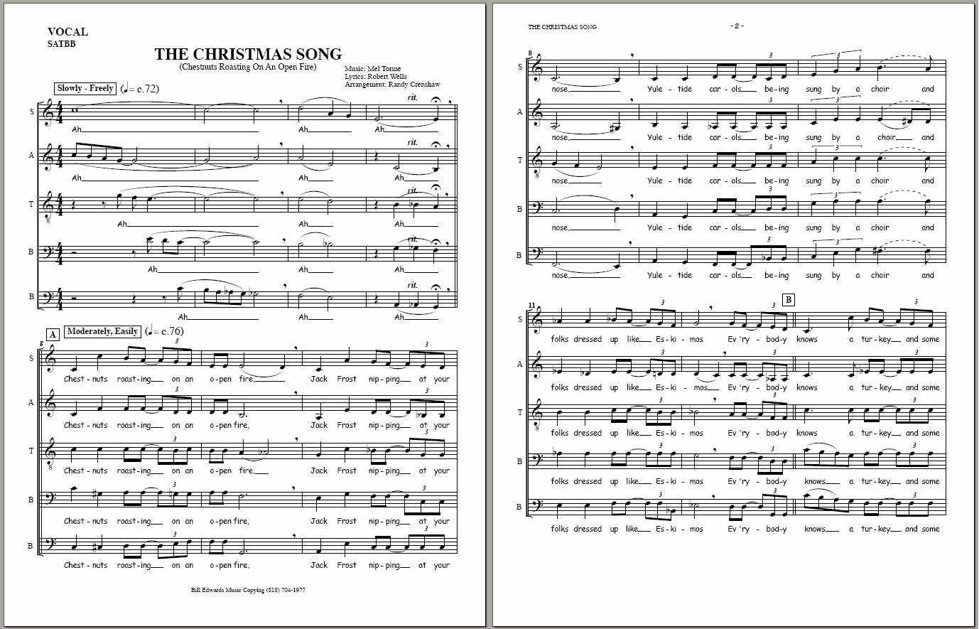 CHARTS | Randy Crenshaw