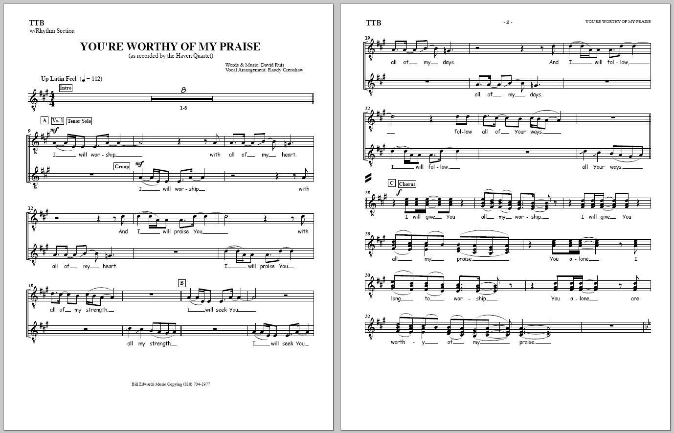 Ly lyrics to something about my praise - Preview Master Rhythm